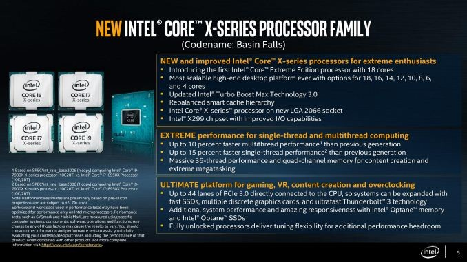 Intel Core i9 vs AMD Ryzen