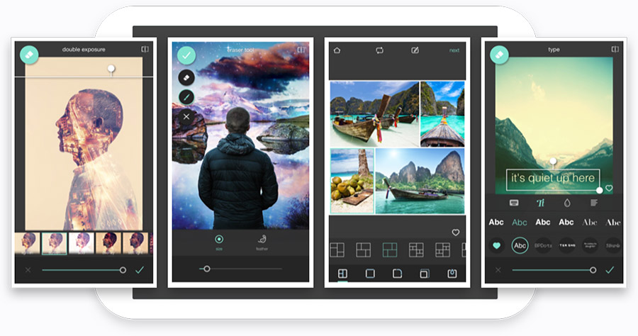 photomontages on Android