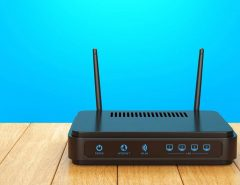 connect two routers in cascade