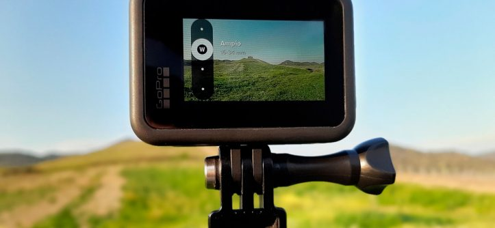 What lens does GoPro use