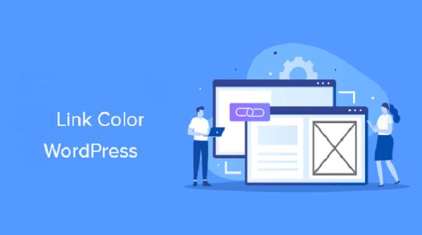 Wordpress change link color